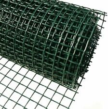 Plastic Garden Fencing 50cm x 5m Green 50mm Square Holes Clematis Netting Mesh