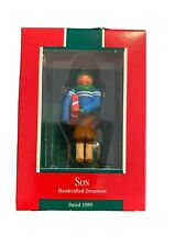 1989 Hallmark Handcrafted Ornament Son New in Box Christmas Collectible