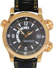 Jaeger Lecoultre Master Compressor Memovox 18k Rose Gold 41mm Watch 146.2.97/1