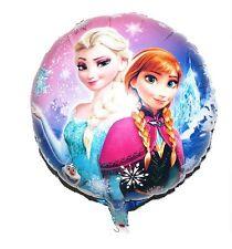 """18"""" 2-Sided Frozen Elsa Anna Mylar Jumbo Balloon Birthday Party Supplies A"""