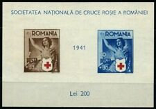Romania 1941 souvenir sheet Red Cross MH Mi block 16 CV $44.00 180122002