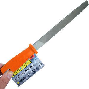 "8"" File/ Engineers File 8"" Long for Filling metal cross cut (2nd cut flat File)"