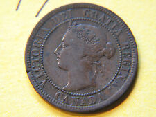 #1,1893 Canada, Canadian Large Cent Coin , Canadian One Cent