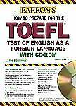Barron's How to Prepare for the TOEFL with CD-ROM, 11th Edition by Sharpe Ph.D.