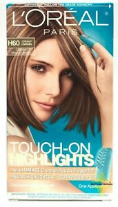 L'Oreal Touch-On Highlights H60 Creamy Caramel Light To Medium Brown Hair