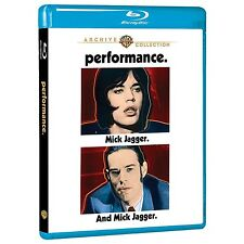 PERFORMANCE (1970) MICK JAGGER BLU RAY NEW AND SEALED