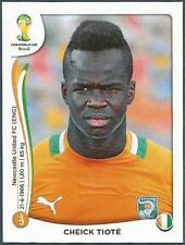 PANINI WORLD CUP 2014- #232-COTE D'IVOIRE-IVORY COAST & NEWCASTLE-CHEICK TIOTE
