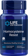 Life Extension Homocysteine Resist, 60 veg caps, vitamin B | 02121