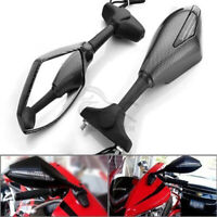 Motorcycle LED Turn Signal Racing Side Mirrors For Suzuki GSXR1000 600 Hayabusa