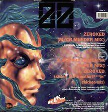 ZERO ZERO - Zeroxed - 1991 Kickin Uk - COUP DE PIED 9