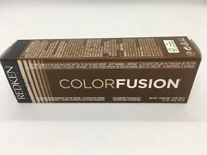 Redken Color Fusion Tube 2.1 Oz Color Creme 4N Neutral New In Box