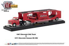 M2 Machines Auto Hauler 36 1967 Chevrolet C60 Truck and 1971 Chevy Camaro
