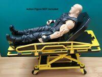RC 1/10 Scale Stretcher Truck Ambulance Rock Crawler Garage Miniature Accessory