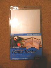 "J.J Keller Recycled Aluminum Form Holder 5.66 x 9.5/"" USA"