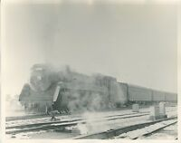 1959 Canadian Pacific Locomotive Photo 2408 4-6-2 Montreal Quebec Steam Railroad