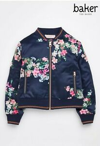 Ted Baker Floral Bomber Jacket 7 Years
