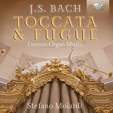 STEFANO MOLARDI - TOCCATA & FUGUE-FAMOUS ORGAN MUSIC 2 CD NEU BACH