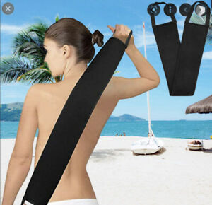 Self tanning back mitt  TO APPLY  fake bake xen tan FREE ST TROPEZ EXFIOLATOR