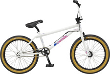 GT Pro Performer White complete New old mid new school BMX Power series crank 20