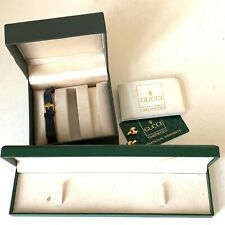 Vintage Gucci watch and jewellery box joblot