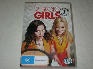 2 Broke Girls - Complete Season 1 - 3 Disc Set - VGC - Region 4 - DVD
