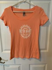 "Beth Hart T-Shirt, Small.  New w/out Tag.  ""Fire On The Floor"" Nice Concert T!"