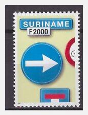 Surinam / Suriname 2000 Trafficsign 1 roadsign verkehrsschild MNH