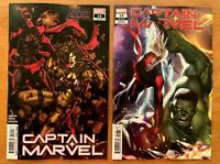 CAPTAIN MARVEL 14 2020 Brooks Main + In-Hyuk Lee Connecting Var Marvel NM+
