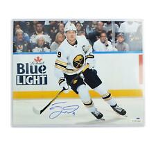 Jack Eichel Autographed #9 Buffalo Sabres 16x20 Anniversary Jersey Photo