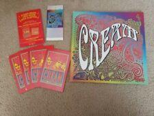 Clapton / Cream 2005 Madison Square Garden Concert Program Tour Book Ticket