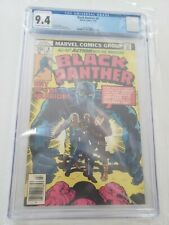 Black Panther #8 CGC 9.4 Off White/White Pages (1978)