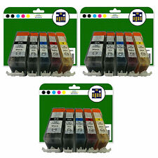15 Ink Cartridges for Canon Pixma MP540 MP550 MP560 MP620 non-OEM 520/521