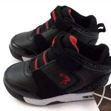 SHAQ Sz 10 Toddler Boy's Tennis Basketball Casual Hi Top Shoes Black Red New NWT