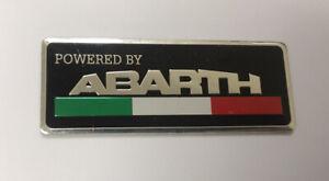 Italy 🇮🇹 For Car Heat-Resistant Aluminium Badge Decal For Fiat Abarth #2