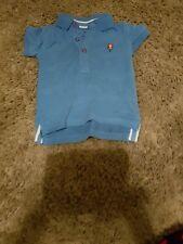 Baby Boy Next blue polo shirt....3-6 months