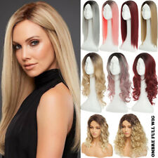 """HOT Women Fashion Lady Anime 26"""" Long Curly Straight Hair Party Cosplay Full Wig"""