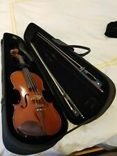 Yamaha V-5 4/4 Full Size Violin barely used, with Shoulder Rest and Case, 2 Bows