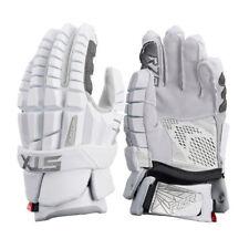 STX Surgeon RZR Senior Lacrosse Gloves - White (NEW)
