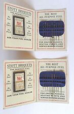 Vintage Advertising Sewing Needles Kit - Stott Briquets THE PERFECT FUEL