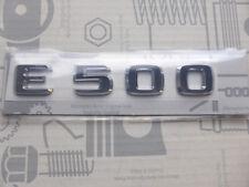 Original Mercedes Schriftzug / Typkennzeichen E500 W124 ab Modelljahr 1993 NOS!