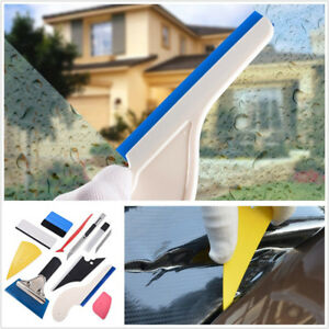 10 Pcs/Set Durable Car SUV Window Wrapping Vinyl Removal Film Foil Squeegee Tool
