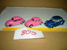 Konvolut, Sammlung Nr. 809 Modellautos Hongwell, Maisto VW Beetle, VW 1300, 04-2