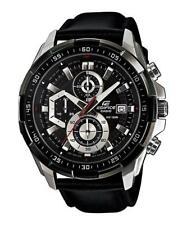 Casio Analog Casual Watch Edifice Chronograph Black Mens Efr-539l-1a