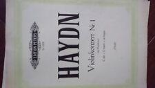 Violin Music Haydn Violin Concerto C Major