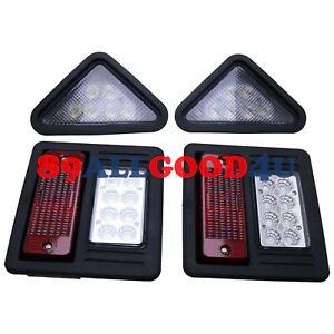 LED Head Tail Light Kit For Bobcat 883 963 A220 A300 S100 S130 S150 Exterior