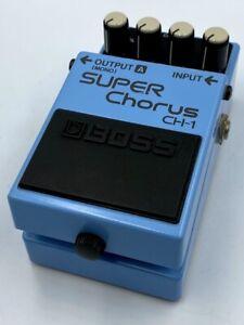 BOSS CH-1 Super Chorus '97 Vintage Analog Guitar Effect Pedal Pink Label