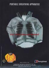 Berghaus Paclite Jacket 1999 Magazine Advert #658
