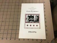 Dutch: 1911-1956 - 45th wedding aniv, MENU - W photo, i show all pages