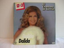 LP 33 Tours DALIDA 16 Chansons 16 Succès 1981  - Réf. : 63.031