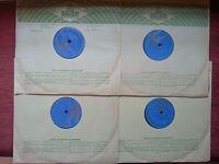 DAVID OISTRAKH (violin) LEV OBORIN (piano) BEETHOVEN 4x78 RPM - pre Melodiya NM